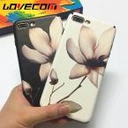 Модные цветочные окрашенные 3D рельеф телефона Чехлы для iPhone 6 6S плюс 7 7 pluus мягкий шелк ТПУ цветок камелии Coque задняя крышка Капа