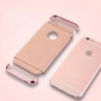 Антидетонационных покрытие Съемный 3 в 1 Жесткий ПК с матовой кожи защитный тонкий гладкий крышка телефона чехол для iPhone 5 5S 6 6 S плюс