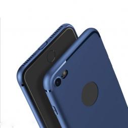 Роскошные Тонкий Силиконовый Чехол Для iPhone 6 6 6 S 7 Плюс 5 5S SE Крышка Коке Черный Мягкий Матовый ТПУ Телефон Случае для iPhone 7 случае
