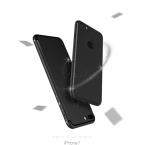 Роскошные Вернуться Матовый Soft Silicon Case for iPhone 6 Случаи 6 s Плюс 5 5S 5SE Candy Цвета Полное Покрытие iPhone 7 Case Плюс Телефон случаях