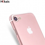(дары) Для Apple iPhone 6 7 Дело Тонкий Crystal Clear ТПУ Силиконовый Защитный coque для iPhone 7 4 5S 5 SE 6 6 s плюс крышка случаев