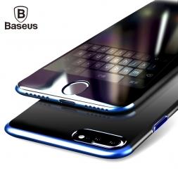 BASEUS PC жесткий чехол для iPhone 7 Чехол для iPhone 7 Plus чехол против царапин гальванических защитный телефона Основа Coque
