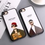 Фильм убийца Леон Матильда зеркальная поверхность силиконовый чехол для iPhone 7 плюс 5 5S SE задняя крышка для Iphone 6S 6 7 Plus Fundas