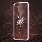 Горный хрусталь чехол для iPhone 7/7 Plus силиконовый Блеск Алмазный Прозрачный чехол для iPhone 7 Plus телефона случаях Coque Роскошные