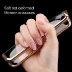 H and тонкий телефон чехол для Apple iPhone 7 плюс роскошный ТПУ Мягкий силиконовый чехол для iPhone 6 7 5 5S SE 6S Plus чехлы