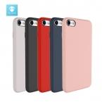 Fshang для iPhone 7 чехол оригинальный кожи жидкий силикон для iPhone 7 Plus Роскошный чехол Коке черный, розовый телефон случаях