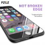 Pzoz для iPhone 7 Закаленное стекло-чехол Prime Защита экрана для iPhone 7 7 Plus Clear Экран телефон стеклянной пленки 7 Plus Glass 2.5D