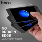 Hoco для iPhone 7 and 7 PLUS 3Д Гибкие Мягкие Края Закаленное Стекло Пленка Прозрачная Анти Blue Ray Протектор Экрана для iPhone7   Защита на экран на Айфон 7 7 Плюс Защита на Айфон Синее стекло на Айфон Защитное стекло