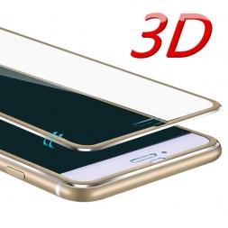 3D алюминиевого сплава закаленное стекло для iPhone 6 6 S 7 Plus 5 5S SE полный 9 H защита экрана Защитная пленка для iPhone 7