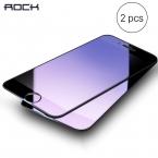 2 шт. закаленное стекло для iPhone 6 7 Plus, Rock Anti-blue/Высокий Clear Экран Защитное стекло для iPhone 7 6 6S plus 2 шт. костюм для мальчиков, футболка   штаны