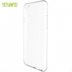 Yeyanfei приятное прикосновение Crystal Clear Прозрачный Мягкие силиконовые ТПУ Dust Разъем защитный чехол для iPhone 6   6s Plus
