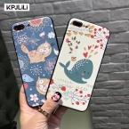 Real 3D Рельеф Case для Apple Iphone 6 6s 6 Plus 6s Плюс 7 плюс 7 Плюс Милый Мультфильм Роскошные Силиконовые Ультра Тонкий Чехол для iPhone7