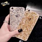 Золотого Шика Блестка чехол для айфона 7 ТПУ мягкий Чехол для айфона 6 7 6s 5 5s SE резиновые Чехлы для айфона 7 6 6s Plus