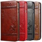 5 5S 6 s Luxury Flip Leather Case For iPhone 6 6 s 7 Плюс 3D бумажник Coque   Силиконовые Назад Чехол Для iPhone 6 6 S Plus iPhone 7 Plus