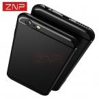 ZNP Роскошный Случай Высокого Качества для apple iPhone 6 6 s 5 5S 6 плюс Ультра-тонкий Матовый Мягкий Чехол Тпу Чехол для iphone 7 7 плюс 6 Coque