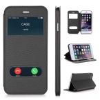 Чехол для Apple iPhone 6 plus и iPhone 6 S плюс роскошный искусственная кожа флип Бумажник чехол с подставкой Капа телефон случаях 5.5 дюймов