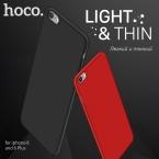 HOCO для iPhone 6 6s Plus Матовая Оболочка Премиум Защитная Крышка Модный Роскошный Тонкий чехол Анти-отпечатков пальцев Жесткий Пластиковый чехол Хоко Защитный чехол на Айфон 6 6S Плюс