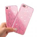Для Apple iPhone 6 6 S Plus 5 5S Телефон чехол для iPhone 7 7 Plus Мягкий гель ТПУ задняя крышка Bling Блеск Мерцающий защитной оболочки