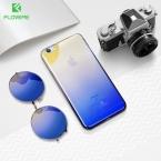 Floveme градиент чехол для iPhone 6 S 7 ультра тонкий ПК Blue Ray покрытие Ясно Роскошный чехол для iPhone 6 6 S плюс 7 Plus Coque