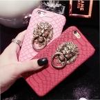 Для iphone 7 Plus Чехол сексуальный Чехол Змея кожи телефона дляApple iPhone 6 6S для iphone 6 6S Plus 3D Лева головы Чехол часть фунда