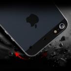 Pzoz для iphone 5SE силиконовый чехол для Apple IPhone 5 Silicon Case Прозрачная 360 Верховный черный, розовый 3D мобильного телефона я S se