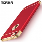 MOFI оригинальный 5S SE Дело 64 ГБ для iPhone 5 SE Футляр 32 ГБ крышка Полный для iPhone 5 Fundas красный Коке для iphone 5S случае 16 ГБ