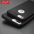 ZNP Роскошные противоударный чехол для телефона iPhone 7 7 6 плюс 6 s 5 Новинка  года силиконовый чехол для Apple IPhone 5 SE 6 S 7 Plus shell