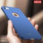 Msvii бренд Обновленные роскошные 4 уровня масляной живописи чехол для Apple iPhone 5/5S/SE жесткий ПК простой и матовый задняя крышка Shell