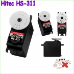 4 шт./лот 100 percent  первоначально Hitec HS-311 стандартный рулевого двигателя стандартный экономика серво падения бесплатная