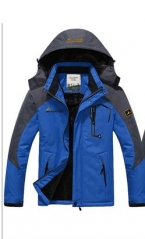 Популярная брендовая зимняя куртка мужчин плюс Размеры бархат теплый ветер парка с капюшоном зимнее пальто для мужчин JK368
