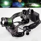 2000 люмен xm-l T6 светодиодный Масштабируемые фара глава факел лампы Налобный фонарик 3-Режимы Кемпинг Рыбалка восхождение лампы
