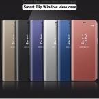 Чехол для Samsung Galaxy S7 Edge чехол Смарт флип Вид из окна гальванических Зеркало Стенд держатель Футляр Fundas для Galaxy s7