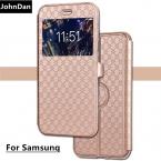 Для Samsung Galaxy S8 плюс S6 S7 Edge A3 A5  A520 a320 флип чехол для Samsung Примечание 8 j530 j330 j730 J5 J7 J3   крышка