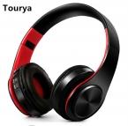 Tourya b7 Беспроводной наушники Bluetooth гарнитура наушники Наушники С микрофоном для ПК мобильного телефона музыка