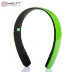 Magift1 Bluetooth Беспроводной Наушники громкой связи звонки с micphone повязка на голову для смартфонов музыке стерео Беспроводной Наушники