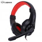 Lupuss G1 проводные наушники с микрофоном регулируемый над ухом игровой гарнитуры Наушники Низкий Бас Стерео для ПК