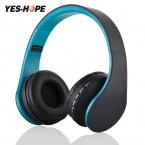 YES-HOPE беспроводные наушники гарнитура Bluetooth стерео Складная спортивные наушники микрофон гарнитуры Bluetooth наушники 811
