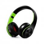 Наушники Bluetooth гарнитура наушники Беспроводной стерео наушники складные спортивные наушники микрофон гарнитуры Handfree mp3 плеер