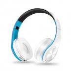 Hi-Fi стерео наушники bluetooth наушники Музыкальная гарнитура FM и поддержка SD карты с микрофоном для мобильного Xiaomi iphone sumsamg Tablet