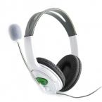 Высокое качество  гарнитура наушники с микрофоном Микрофон Наушники для Xbox 360 Gaming Headset белый
