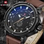 Топ Элитный бренд naviforce Для мужчин Спорт Часы Для мужчин кварцевые Дата Водонепроницаемый часы человек армии Военная Униформа наручные часы Relogio Masculino